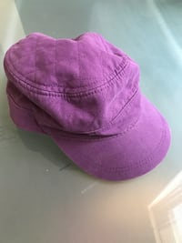 Purple Infantry Cap Silver Spring