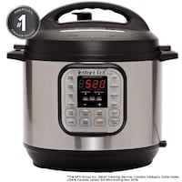 Instant Pot Duo 7-in-1 Multi-Use Programmable Pressure Cooker, 8 Quart { Brand New}