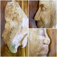 Inseparable Wood Carving by Canadian Artist  Toronto, M9N