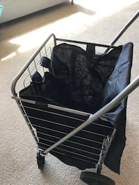 Whitmor deluxe all purpose basket on wheels  Falls Church, 22044