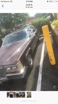 Cadillac - Brougham - 1987 Capitol Heights
