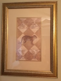 Two framed prints  Bernards