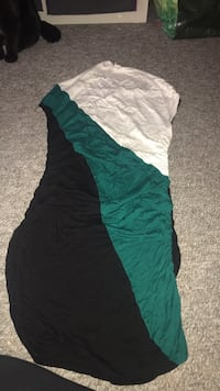 Women's green and black sleeveless dress Laval, H7S 2L2