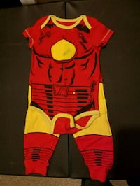 Marvel Iron Man Bodysuit and Pants  Moss Landing, 95039
