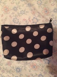 Black and white polka dot make up bag Auburn, 30011