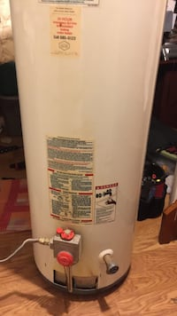 White gas water heater tank Laurel, 20724