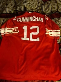1984. Randall Cunningham.MAJESTIC College jersey.3 Kissimmee