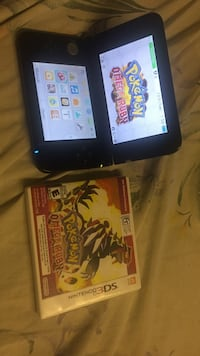 Pokmeon y nintendo 3ds and game case