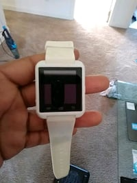 white and black smart watch Baltimore, 21229
