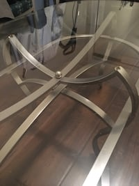 Glass coffee table Toronto, M9W 4J9