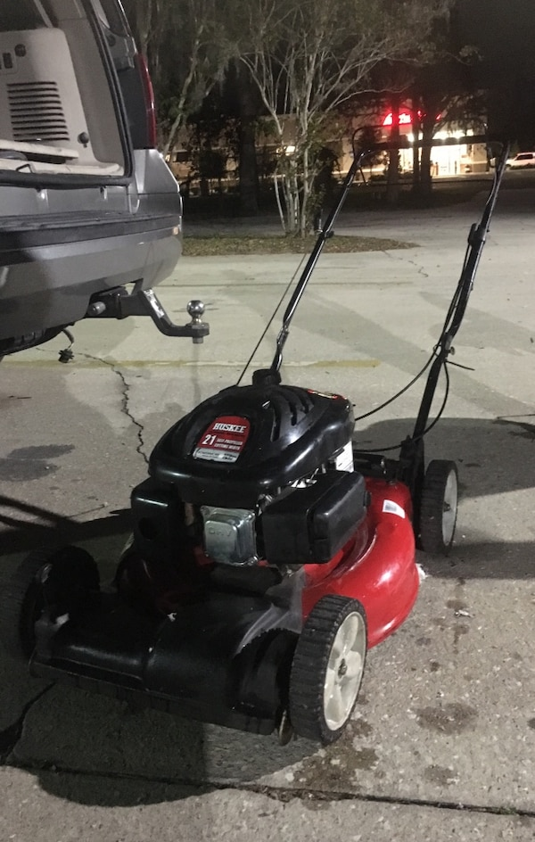 Huskee lawn mower 173cc