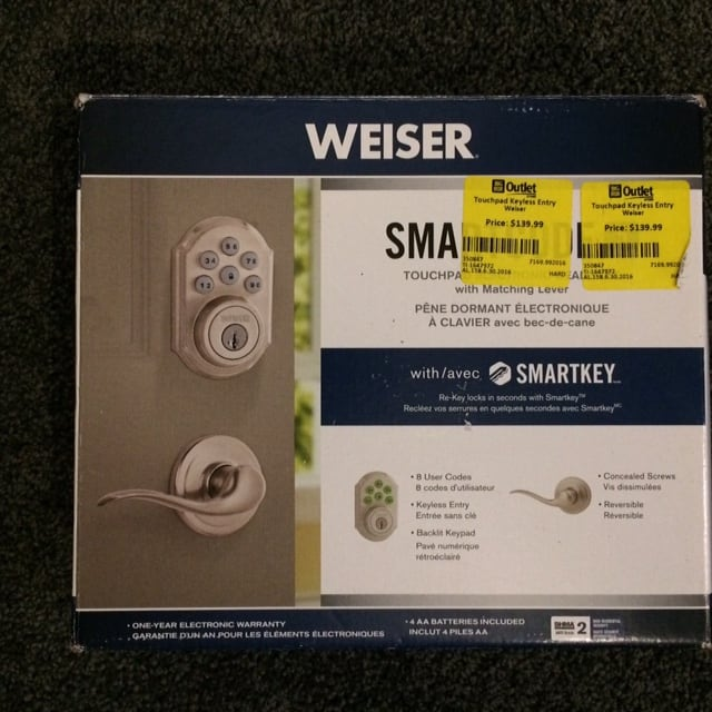 Weiser Security SmartKey