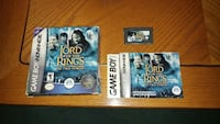 Lord of the Rings Two Towers Gameboy Advance Game  Markham, L3S 3K5