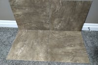 "Brand New Brown 20"" x 20"" Square Ceramic Tiles"