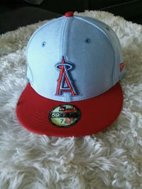 gray and red New Era 9Fifty snapback Fullerton, 92833