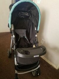 stroller and carseat and base