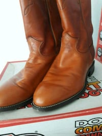 Justin boots 7.5 size Brownsville, 78520