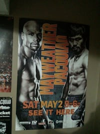 Mayweather vs Pacquiao poster St. Catharines, L2R 3M2