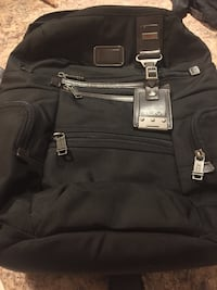 Tumi Alpha Bravo Backpack retails over $500 Vaughan
