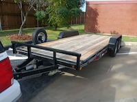 black and brown utility trailer Dallas, 75232