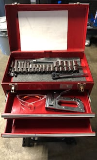 Toolbox with crafstman tools