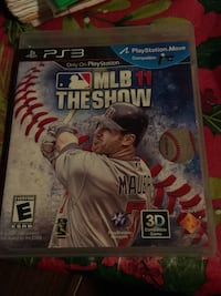 Sony PS3 MLB 13 The Show game case San Jose, 95127
