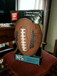 NFL genuine leather official size football Wilson Elgin, 60120