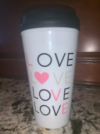 Reusable Love Travel Mug for Hot Drinks Coffee Tea leak proof Toronto, M2J 2W9