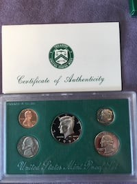 Brilliant uncirculated1995United States mint proof set Bolton, 06043