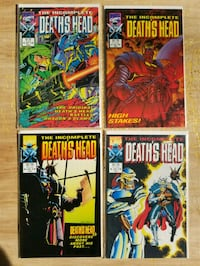 The Incomplete Death's Head 3-6 of 12 issue series Upper Marlboro, 20774