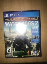 PS4 Watch Dogs 2 Deluxe (Negotiable) Mississauga, L5M 6R7