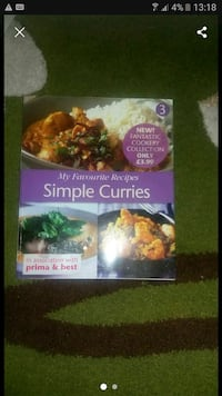 Simple curry book West Midlands, B44 0TL