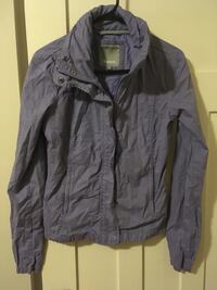 Purple Ladies Bench Jacket sz Sm