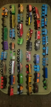 Thomas The Train Wooden Trains Cars Caboose Engine