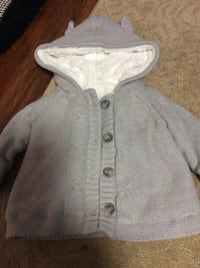 JUST REDUCED   MORE  sweater jacket 6 -12 m  Rockville