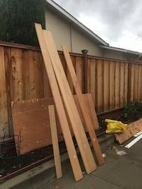 8ft and 9ft high Lumber board (mahogany and red oak) San Jose, 95120