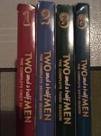 2-Blu Ray & 4 Seasons of Two and a Half Men