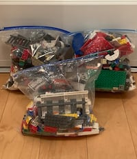 Lot of Legos (2.5 Gallon Bags)—Some Minifigures Vienna, 22180