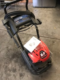 Red and Black Excell Pressure Washer Denver