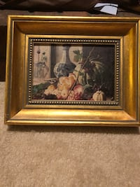 brown wooden framed painting of flowers Memphis, 38018
