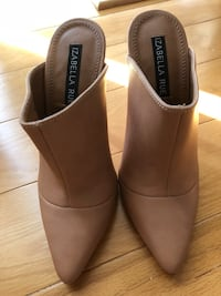 Pair of nude heeled mules Toronto, M1B 1N3