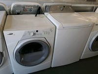 white front-load washer and dryer set Memphis, 38122