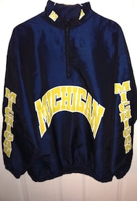 Michigan Wolverines Pullover Wind Jacket London