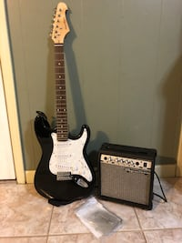 Spectrum guitar with amp