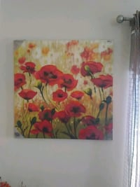 yellow, red, and green flower painting Prineville, 97754