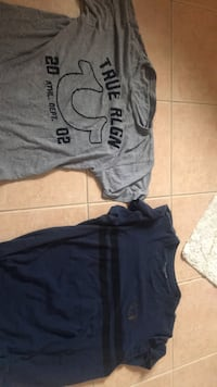 Two medium true religion t shirts 554 km