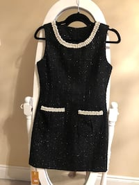 Beautiful black dress with Pearl detail. Toronto, M5R 1H8