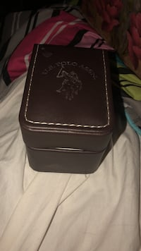 Brown leather u.s. polo assn. case with watch Rochester, 14609