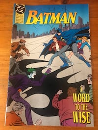 Batman Ltd edition 1992 Zellers Comic Waterdown, L8B 0E4