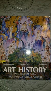 Art History collage text book Columbia, 65201